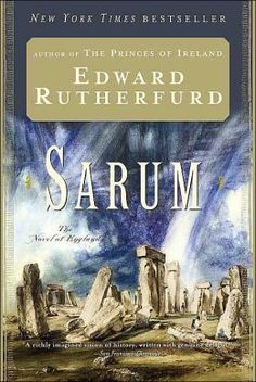 Edward Rutherford, Sarum, historical fiction, English history