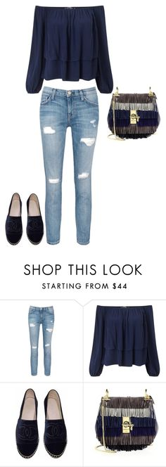 """Untitled #219"" by sophiatsunis on Polyvore featuring Current/Elliott, Miss Selfridge, Chanel and Chloé"