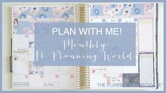 Plan with Me! \\ September Monthly \\ Ft Planning World