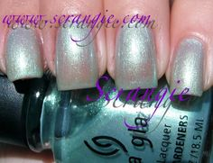 China Glaze: Mer-Made in the Shade (super sheer for layering)
