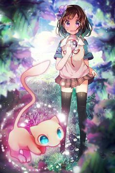 Tagged with anime, fanart, legs, animegirl; Anime Fanart Collection HD Vol. Pokemon Mew, Pokemon Comics, Pokemon Fan Art, Cute Pokemon, Pikachu, Pokemon Pins, Pokemon Stuff, Pokemon People, Original Pokemon