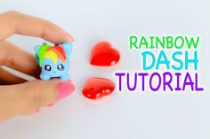 Miniature Tsum Tsum ~ My Little Pony Polymer Clay Tutorial