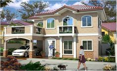 5 Bedrooms Bedrooms 5 Rooms Rooms With 3 Bathrooms Bathrooms House and Lot,In Silang, Cavite, Philippines Verona, My Dream Home, Property For Sale, House Plans, Mansions, Bedroom, House Styles, Homes, Home Decor