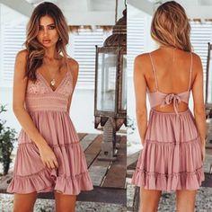 Summer Style Mini Dresses – Maizys Boutique Boho Mini Dress, Lace Dress, Informal Wedding Dresses, Lace Decor, Swimsuit Cover, Bikini Swimsuit, Sexy Dresses, Mini Dresses, Pretty Dresses