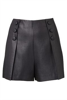 Tailored with a twist, for summer days at the office (Witchery Som Tailored Short) Short Skirts, Short Dresses, Sewing Blouses, Classy Work Outfits, Tailored Shorts, Chor, Cute Shorts, Fashion Pants, African Fashion
