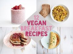 Are you looking for vegan breakfast recipes and ideas? Then check out my favorite vegan recipes, including tofu scrambles, pancakes, breads and more!