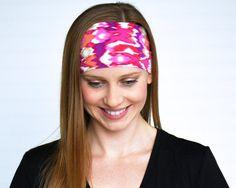 Yoga headband Workout headband Ladies by WildandFreeFashion