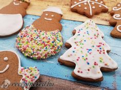 Érdekel a receptje? Kattints a képre! Küldte: Gingerbread Cookies, Food And Drink, Sugar, Sweet, Paleo, Gingerbread Cupcakes, Candy, Beach Wrap, Paleo Food