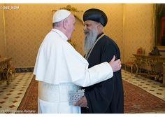 Papa Francisco: cese violencia contra cristianos y minorías en Oriente Medio y África. Visita del Patriarca ortodoxo etíope - Radio Vaticano