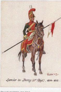 Lancier de Berry (6e regt) 1814-15