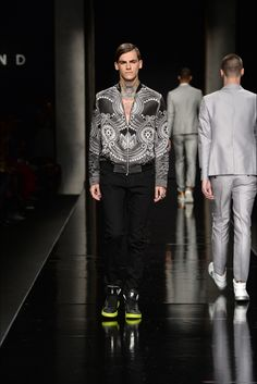John Richmond - Men Fashion Spring Summer 2015 - Shows - Vogue.it
