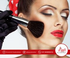 A career of a #MakeupArtist combines creativity and glamour. However to become a professional Makeup artist, you need thorough theoretical and practical training. Enroll for the Makeup Artistry Courses by Dr Paul's Institute of Advanced Studies & Research and turn professional.