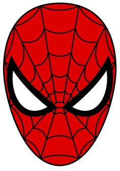 Spiderman printable logo cake templates pinterest for Spiderman template for cake