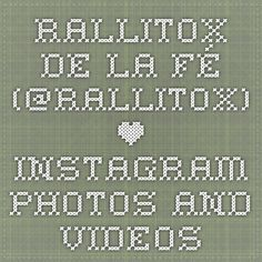 Rallitox De la Fé (@rallitox) • Instagram photos and videos