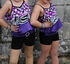 Girls Dance Costume by Weissman Size Small   eBay
