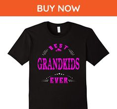 Mens Funny family shirt Best grandkids ever Small Black - Relatives and family shirts (*Amazon Partner-Link)