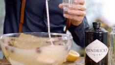There is a HENDRICK's cocktail for every festive occasion this holiday season. Hosting a divine dinner party? The Jubilee Punch is the perfect winter drink to delightfully share with friends, family and newcomers. Fancy Drinks, Cocktail Drinks, Yummy Drinks, Cocktail Recipes, Alcoholic Drinks, Beverages, Christmas Appetizers, Christmas Drinks, Holiday Cocktails