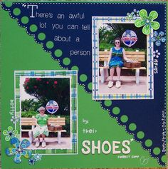 ...by their shoes - Scrapbook.com