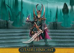 Dark Eldar Archon: My sweetie is an Eldar and Dark Eldar fan, so I told him I'd pin some Warhammer 40K for him!