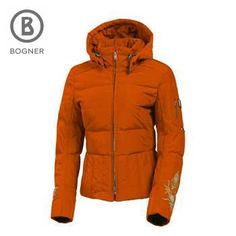 I am on a quest for an orange jacket for snowboarding. Love this, but Bogner is just too expensive :-(