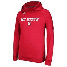 adidas North Carolina State Wolfpack Sideline Stitch Ultimate Hoodie - Red