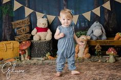 Winnie The Pooh Themes, Hundred Acre Woods, Cupcake Bakery, Girl Cakes, Photographing Babies, Newport Beach, Cake Smash, Themed Cakes, Tigger
