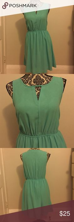 Selling this Mint Green Formal Dress on Poshmark! My username is: stum8287. #shopmycloset #poshmark #fashion #shopping #style #forsale #Everly #Dresses & Skirts