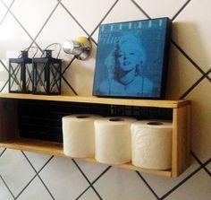 Decoração para banheiro – Nicho de madeira