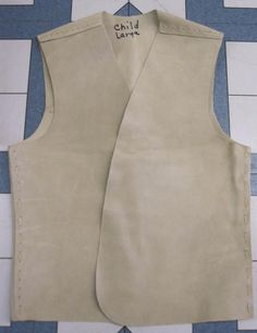 Yguide, Indian Guide, Adventure Guide, Princess ~ Suede Vest Samples  http://www.sbearstradingpost.com/YMCAindians.html#VESTS