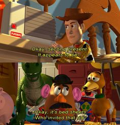 Toy Story....great line