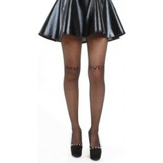 Collants Glamour Sexy Pin-Up Voile What Ever