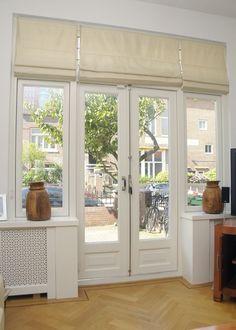 French Doors Bedroom, French Doors Patio, Küchen Design, Door Design, House Design, Kitchen Patio Doors, Small Balcony Decor, Black Interior Doors, Room Doors