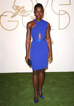 Lupita is honored by LoveGold at Chateau Marmont, wearing Stella McCartney. via @stylelist | http://aol.it/1B1HLwQ
