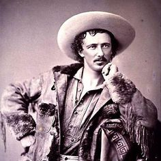 A former scout, Confederate soldier, newspaper correspondent and pop figure of his day, Texas Jack Omohundro was a friend of William F. Buffalo Bill Cody and James Butler Wild Bill Hickok. Old West Outlaws, Cowboys And Indians, Real Cowboys, Old West Photos, Wild West Show, Into The West, American Frontier, Texas History, American History