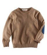 Sweater w/ elbow patch