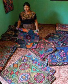 Maya- hooked rugs
