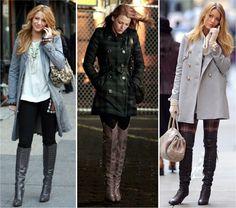 16 FORMAS DE USAR BOTA COM SERENA VAN DER WOODSEN - Fashionismo