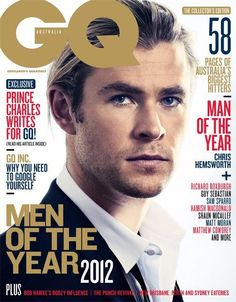 Chris Hemsworth - GQ Magazine Cover [Australia] (December 2012)