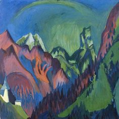 Ernst Ludwig Kirchner Expressionism | ... painting of Ernst Ludwig Kirchner as art print or hand painted oil