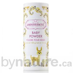 Anointment Natural Baby Powder, Talc-Free