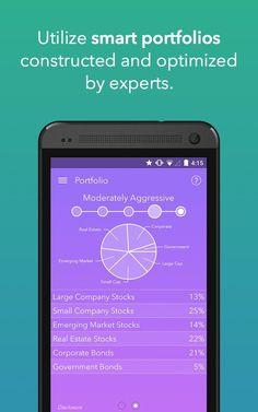 Acorns investment app - UI