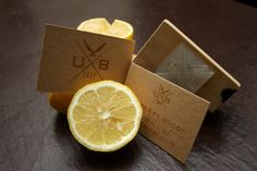 Creative by Andrea Vitali, via Behance The chef's business cards are stamped with lemon juice and then baked. (via Brand New)