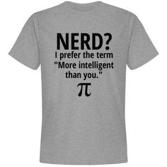 Nerd | Great shirts for all geeks!