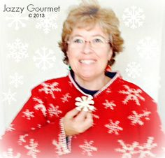 I'm Dreaming of a White Chocolate Christmas | Jazzy Gourmet  #WhiteChocolate  #garnish  #ZippyTip