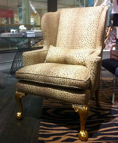 leopard print furniture images | space519 – a refined general store » home