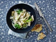 Opskrift på lækker kylling curry med ris