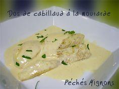 Cabillaud, Moutarde, Crème, Facile, Gingembre, Epices,