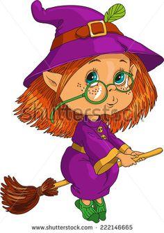 Brujas En Escoba Fotos, imágenes y retratos en stock | Shutterstock