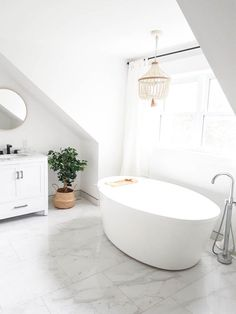 Creating Our Master Bathroom With Freestanding Tub