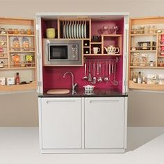 Culshaw Kitchenettes - Free standing compact kitchen furniture